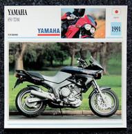 Collection Fiches ATLAS - MOTO - YAMAHA 850 TDM - 1991 - Autres