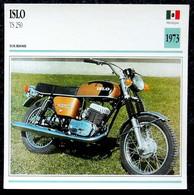 Collection Fiches ATLAS - MOTO - ISLO TS 250 - 1973 - Autres