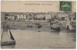 85 CROIX-de-VIE  Quai Du Passage - Saint Gilles Croix De Vie