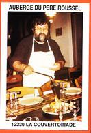 X12276 Rare LA COURVERTOIRADE 12-Aveyron LES MOURGUETTES Auberge Du PERE ROUSSEL Cppub 1975s - France