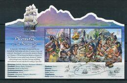 """Pitcairn - Block Nr. 71 - """"Die Frauen Der Bounty"""" ** / MNH (aus Dem Jahr 2017) - Stamps"""