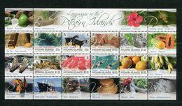 """Pitcairn - Kleinbogen Mi.Nr. 983 / 990 - """"Die Sprachen Der Pitcaininseln"""" ** / MNH (aus Dem Jahr 2016) - Stamps"""