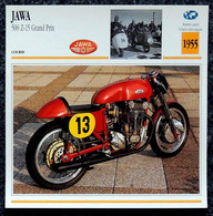 Collection Fiches ATLAS - MOTO - JAWA 500 Z-15 Grand Prix - 1955 - Autres