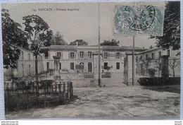 CPA - SAUCATS - Château Laguloup - Other Municipalities