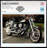 Collection Fiches ATLAS - MOTO - HARLEY-DAVIDSON 1400 Dyna Glide - Édition Limitée STURGIS - 1990 - Autres
