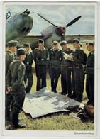 Deutsland  Tritte Reich - Luftwaffe - Einsatzbesprechung - Guerra 1939-45