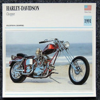 Collection Fiches ATLAS - MOTO - HARLEY-DAVIDSON Chopper 1991 - Autres