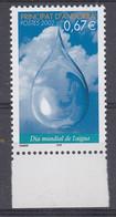 Andorra Fr. 2002  World Water Day 1v ** Mnh (50228) - French Andorra