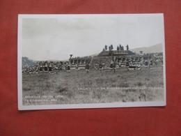RPPC    Mexico         Teotihuacan  Sacrifice To The Gods   Ref  4402 - Messico