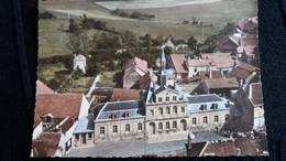 CPSM RECEY SUR OURCE COTE D OR VUE GENERALE  EN AVION AU DESSUS DE ED LAPIE 1960 ? 2K - Other Municipalities