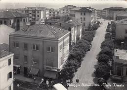 CHIOGGIA- SOTTOMARINA-VIALE VENETO-CARTOLINA VERA FOTOGRAFIA VIAGGIATA IL 1-7-1958 - Venezia