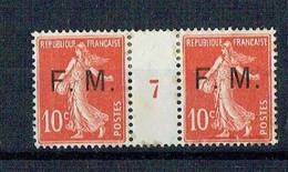 10c Semeuse  FM N°5 Millésime 7 (voir Description) - Millésimes