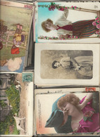 250 Cartes Fantaisies - Postcards