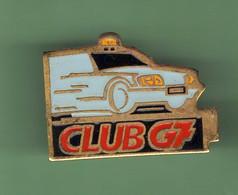 TAXIS *** N°4 *** CLUB G7 *** (GC1) - Transport Und Verkehr