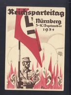 Dt. Reich PK Reichsparteitag Nürnberg 1934 Gelaufen - Evenementen