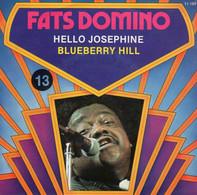 Disque - Fats Domino - Hello Josephine - Blueberry Hill - Atlantic ATL 11.189-A - France 1974 - Rock