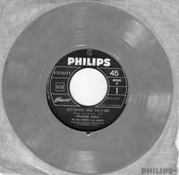 Disque - France Gall - Attends Ou Va-t-en - Philips B 373.617 F - 45 RPM, Single, Jukebox, Mono - France 1965 - Rock