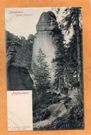 Pfaffenstein Sachs Schweiz Germany 1905 Postcard - Altri