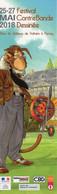 Marque Page Etienne Willem Ailes Du Singe 2018 - Books, Magazines, Comics