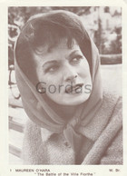 "Maureen O'Hara - Actress - Movie - ""The Battle Of The Villa Fiortha"" - Advertise - Célébrités"