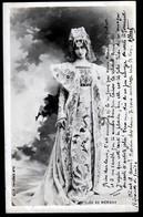 CPA PRECURSEUR- FRANCE- ARTISTE FEMME DE 1900- CLÉO DE MÉRODE- TRES GROS PLAN - Entertainers