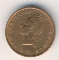 DOMINICANA 1963: 1 Centavo, KM 25 - Dominicana