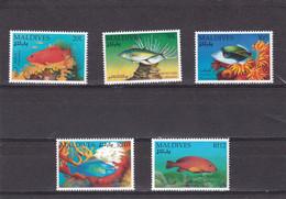 Maldivas Nº 1437 Al 1441 - Maldivas (1965-...)