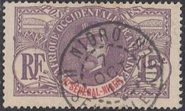 Haut-Sénégal Et Niger - Nioro Sur N° 6 (YT) N° 6 (AM). Oblitération De 1912. - Haut-Sénégal Et Niger (1904-1921)
