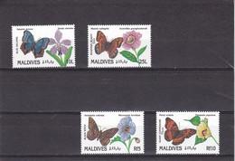 Maldivas Nº 1368 Al 1371 - Maldivas (1965-...)