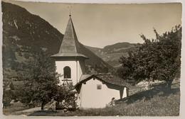 VS: VAL DE BAGNES: MONTAGNIER: La Chapelle St Etienne... BELLE CARTE - VS Wallis