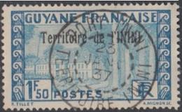 Inini (Territoire De L') - Port-Inini Sur N° 21 (YT) N° 14 (AM). Oblitération De 1937. - Used Stamps