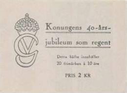 ZWEDEN 1947 Postzegelboekje 20x 10õre Gustaf V  PF-MNH-NEUF - 1904-50