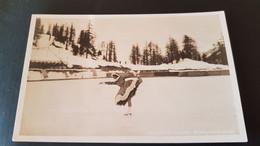 St Moritz - Eiskunstlauferin - Ice Skating - GR Grisons