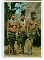 Y17685/ Junge Frauen Nackt  Zulu-Frauen Natal   Afrika  AK 1975 - Sin Clasificación