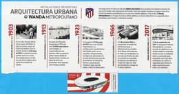 España. Spain. 2020. Historia Del Estadio Futbol Del Club Atletico De Madrid - 2011-... Nuovi & Linguelle