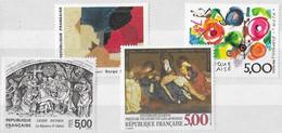 FRANCE N°2553,2554, 2557 Et 2558 **  Neufs Sans Charnière Luxe MNH - Unused Stamps