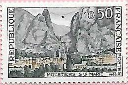 France:n° 1436 ** Moustier Sainte-Marie - Nuevos