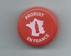BP 1 - BOUCHON PLASTIQUE COCA COLA - PRODUIT EN FRANCE (ROUGE) - Other