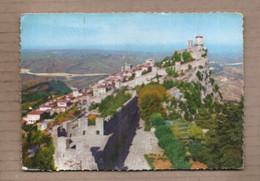 CPSM SAINT-MARIN -SAN MARINO - REPUBLICA DE S. MARINO - Première Tour - SUPERBE Oblitération TB TIMBRES - San Marino