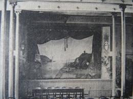 CPA Saint Brieuc Ecole Saint Charles La Salle Des Fêtes Waron 1908 Dest :Moelan Manoir De Guilly Kertalg Comte - Saint-Brieuc