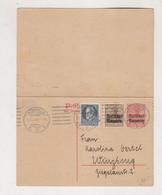 GERMANY BAVARIA MUNCHEN 1919 Postal Stationery - Beieren
