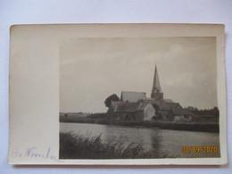 Frankreich Belgien, Warneton ?, Kirche, Fotokarte Mit Ortsangabe (26382) - Weltkrieg 1914-18