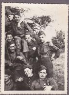 S.A.R Henri, COMTE DE PARIS à La Légion Etrangère Mai 1940 Au Milieu De Ses Camarades - Photo - Célébrités