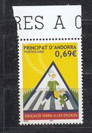 Andorra Fr. 2002  School Traffic Security  1v ** Mnh (50229) - French Andorra