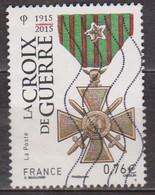 Médaille Commémorative - FRANCE - Croix De Guerre - N° 4942 - 2015 - Oblitérés