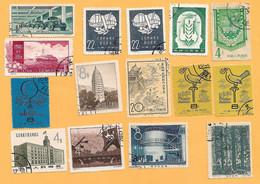 50115  --  CHINE  -  Lot De Timbres De 197+58  Oblitérés - China
