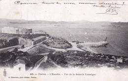 83 - Var - TOULON - L Escadre - Vue De La Batterie Lamalgue - Toulon