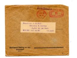 Lettre  Machine Dusseldorf - Lettres & Documents