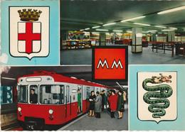 N°5472 R -cpsm Metro Milano - Subway