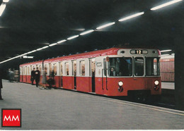 N°5473 R -cpsm Milano -le Metropolitana- - Subway